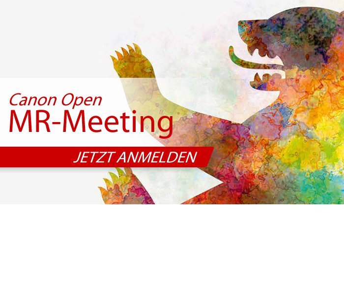 Canon Open MR-Meeting Berlin