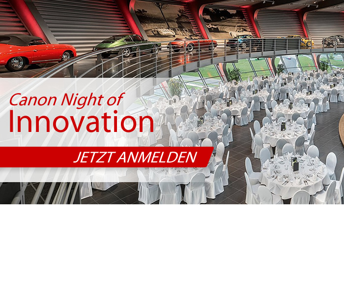 Canon Night of Innovation – 99. Deutscher Röntgenkongress